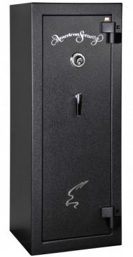 Amsec BF6024 Gun Safes Textured Black/Chrome