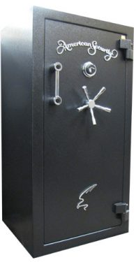 Amsec BF6030 Gun Safes Textured Black/Chrome