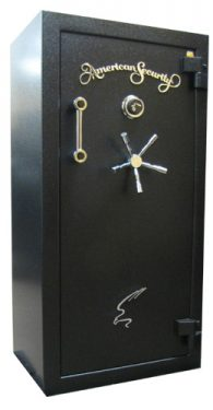 Amsec BF6032 Gun Safes Textured Black/Chrome