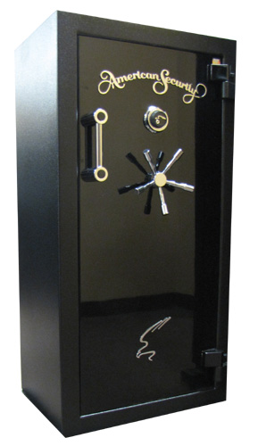American Security BF 6032 Textured Black with Onyx Door
