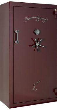 Amsec BF7240 Gun Safes Burgundy Metallic/Black Chrome