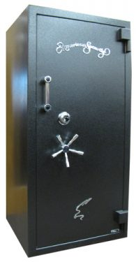 Amsec RF6528 TL-30 High Security Gun Safes Text Black Closed