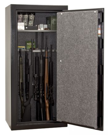 Liberty Centurion 24 Gun Safe Open