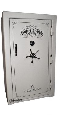 SUPERIOR SUPREME 45 GUN SAFES, Triple Step Door