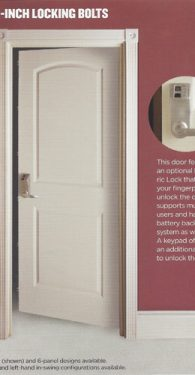 PROSTEEL VANGUARD STORM SECURITY DOOR