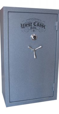 West Coast 31 Gun Safes Closed