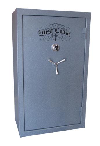 West Coast 31 Gun Safes Closed