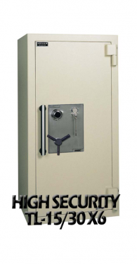 TL-15/30/X6 High Security Safes