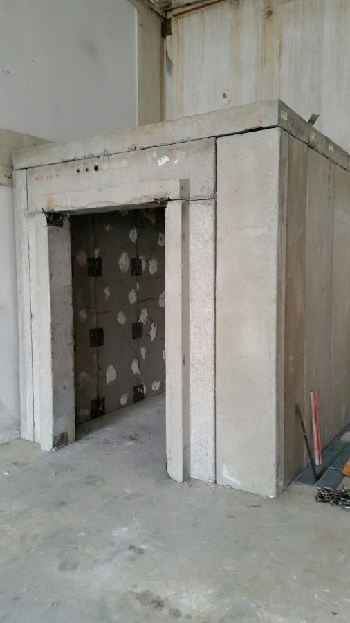 Vault Room In Progress