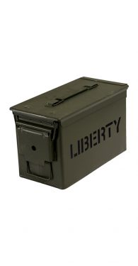 Liberty .50 Caliber Ammo Canisters