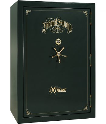 National Security Classic Extreme 60 Green Gloss Gold