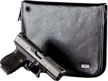 Liberty Compact Leather Handgun Case
